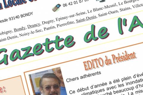 La Gazette du 1er trimestre 2018 est publiée !